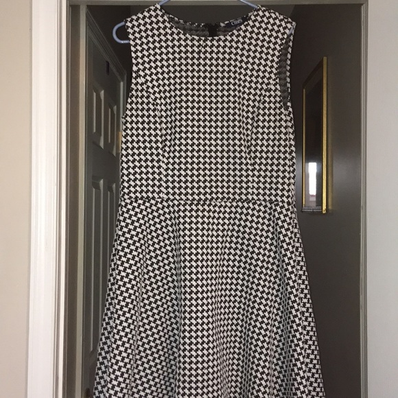 Chaps Dresses & Skirts - Plus sized 16 Chaps houndstooth dress